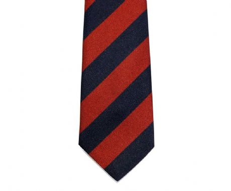The Scots Guards and Household Division regimental colours striped tie made in the UK excellent value at only £15.99.